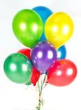 Balões coloridos. decoração do partido foto de stock