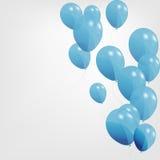 Balões coloridos, ilustração do vetor Ilustração Stock