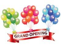 Balões da abertura grande Fotos de Stock Royalty Free