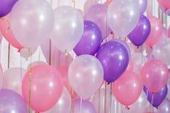 Balões da cor pastel Imagem de Stock