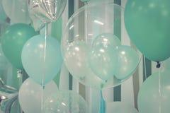 Balões da cor pastel Imagens de Stock