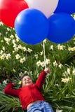 Balões da primavera Fotos de Stock Royalty Free