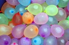 Balões de água Fotos de Stock