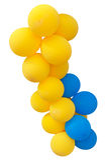 Balões de ar Imagens de Stock Royalty Free