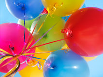 Balões de ar coloridos fotos de stock
