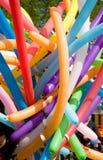 Balões de ar coloridos. Imagens de Stock