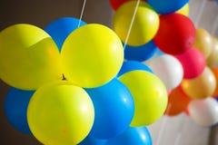 Balões de ar coloridos. Fotos de Stock