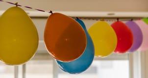 Balões de ar coloridos Imagem de Stock
