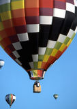 Balões de ar quente fotos de stock