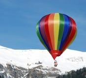 Balões de ar quente imagem de stock