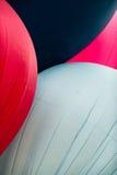 Balões de ar quente abstratos mim imagem de stock royalty free