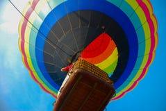 Balões de ar quente coloridos Fotos de Stock