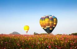 Balões de ar quente coloridos Fotografia de Stock Royalty Free