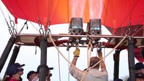 Balões de ar quente em Bagan video estoque