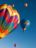 Balões de ar quente em Mondovi', Italy Fotografia de Stock Royalty Free