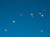 Balões de ar quente em Mondovi', Italy Imagem de Stock Royalty Free