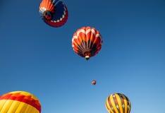 Balões de ar quente sobre Califórnia do norte Imagem de Stock