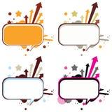 Balões de discurso (bolha do discurso) Imagens de Stock
