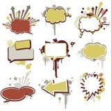 Balões de discurso (bolha do discurso) Imagem de Stock