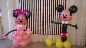 Balões de Mickey Mouse filme