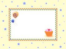 Balões do aniversário Fotografia de Stock