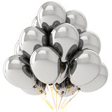 Balões do cromo ilustração stock