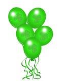 Balões do St Patrik Imagens de Stock