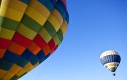 Balões do vôo Fotos de Stock Royalty Free
