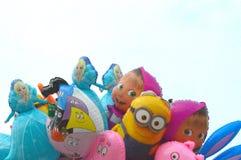 Balões dos desenhos animados Imagens de Stock Royalty Free