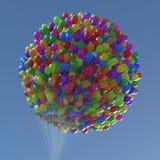 Balões dos números & dos símbolos da porcentagem Imagens de Stock Royalty Free