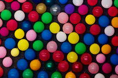 Balões em uma parede fotos de stock royalty free