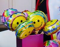 Balões engraçados Sorriso Fotografia de Stock
