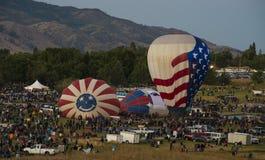 Balões felizes Fotografia de Stock