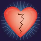Balões Heart-shaped para o dia do Valentim Fotografia de Stock