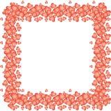 Balões Heart-shaped para o dia do Valentim Fotos de Stock