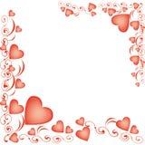 Balões Heart-shaped para o dia do Valentim Foto de Stock Royalty Free