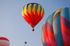 Balões Hot-air Imagens de Stock Royalty Free