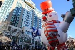 Balões na parada do feriado Foto de Stock Royalty Free