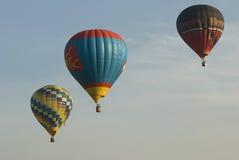Balões no céu Fotografia de Stock Royalty Free