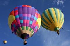 Balões no céu Imagem de Stock Royalty Free