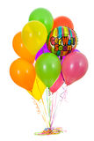 Balões: O grupo de obtém logo balões bons Fotografia de Stock