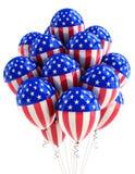 Balões patrióticos dos EUA ilustração royalty free