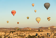 Balões quentes Foto de Stock Royalty Free