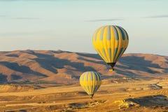 Balões quentes Imagem de Stock Royalty Free