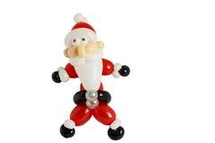 Balões torcidos para olhar como Santa Imagem de Stock Royalty Free