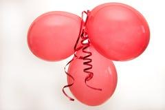 Balões vermelhos Fotos de Stock Royalty Free