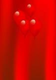 Balões vermelhos ilustração do vetor