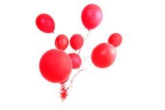 Balões vermelhos Fotografia de Stock Royalty Free