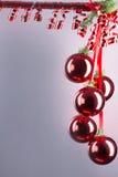 Balões vermelhos Imagem de Stock