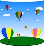 balões Vetor EPS10 Foto de Stock Royalty Free